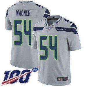 Seahawks Bobby Wagner 100th Season Jersey 2